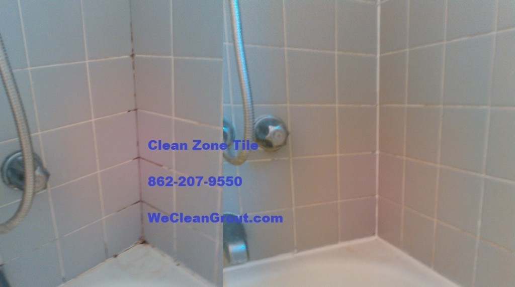 Bathroom grout repair